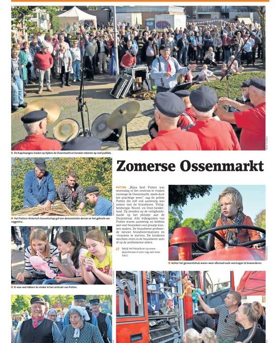 Krant Puttenaer | Zomerse Ossenmarkt 2018