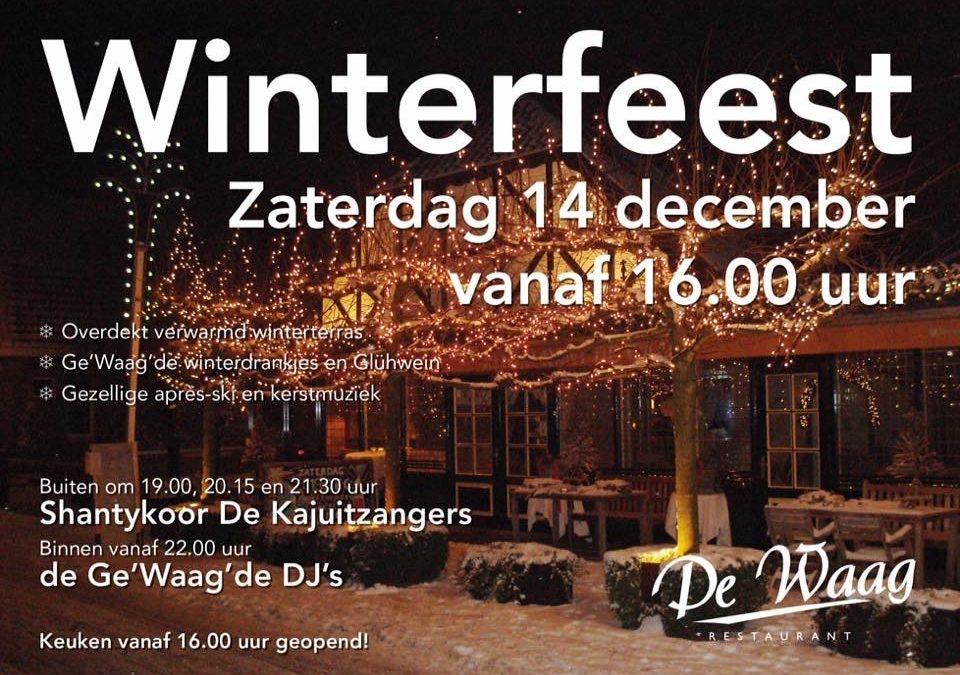 Kajuitzangers bij winterfeest De Waag